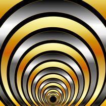 Illusion with metallic rings  von Shawlin Mohd