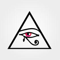 The eye of Horus or symbol of illuminati  von Shawlin I
