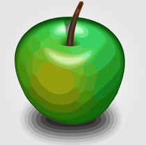 Green apple  von Shawlin Mohd