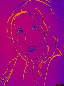 Frau Violett by nachtlicht