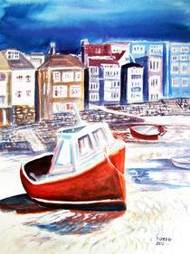 Fischerhafen der Coastal Path by Irina Usova