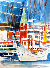Kieler Hafen von Irina Usova