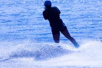 Wakeboarding in blue 10 von Marc Heiligenstein