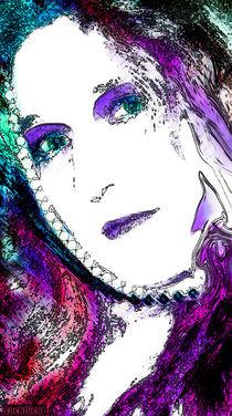 Frau Regenbogen by nachtlicht
