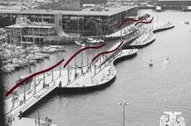 Magische Brücke Barcelona von julita