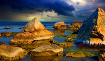 The rocks near the shore von Yuri Hope