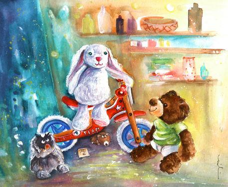 A-white-rabbit-on-a-bike-m