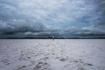 Cloudy day on Whitehaven Beach von Joao Henrique Couto e Silva
