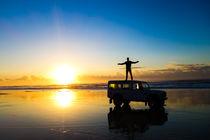 Sunrise in Fraser Island von Joao Henrique Couto e Silva