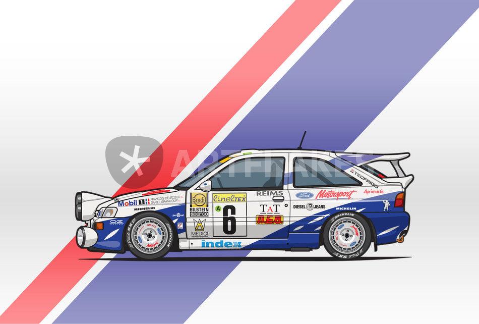 329 DECALS 1//43 FORD ESCORT WRC MEDEGHINI RALLY SAN MARINO 1998