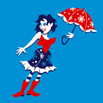 Mary-poppins-graphic-art-design