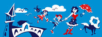 Mary Poppins - Campanile Rialto Venezia by nacasona