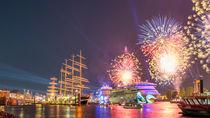 AIDA Feuerwerk zum 827. Hamburger Hafengeburtstag von Steffen Klemz