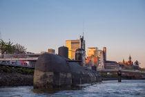 Submarine U-434 Hamburg Harbor (1 of 2) von Steffen Klemz