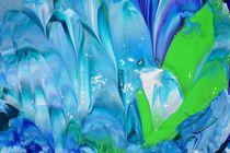 blue ice crystal by lura-art