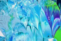 blue ice crystal von lura-art