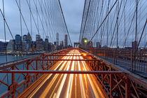 Brooklyn Bridge Am Abend by Borg Enders