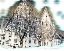 City hall of Ulm von Michael Naegele