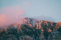 Mountains in the background VII by Salvatore Russolillo