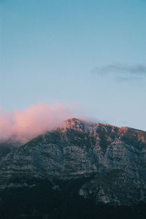 Mountains in the background  VI by Salvatore Russolillo