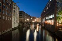 Ellerntorbrücke by Borg Enders