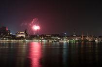 Hafen Feuerwerk von Borg Enders