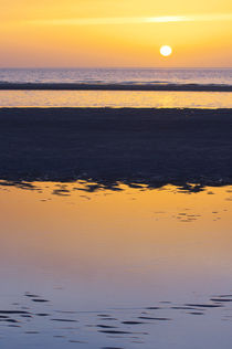 Sonnenuntergang Insel Amrum von AD DESIGN Photo + PhotoArt