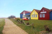 Bunte Häuser - Seezeichenhafen Wittdün von AD DESIGN Photo + PhotoArt