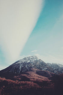 Mountains in the background XIII by Salvatore Russolillo