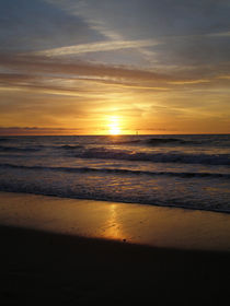 Sonnenuntergang auf Sylt by Borg Enders