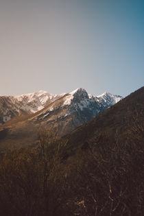Mountains in the background XVIII von Salvatore Russolillo