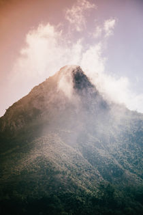 Mountains in the background XIX by Salvatore Russolillo