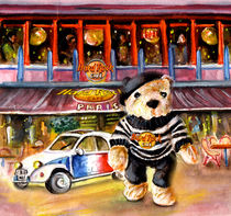Hard Rock Cafe Teddy Bear from Paris by Miki de Goodaboom