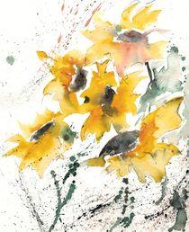 Sonnenblumen 10 von Ismeta  Gruenwald