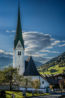 Niederau Village Church by Colin Metcalf
