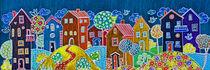 mon petit village, la nuit... von Boris Selke