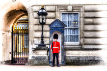Buckingham Palace Queens Guard Art von David Pyatt