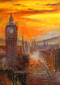 Evening London by Olha Darchuk