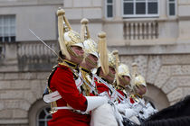 Household Cavalry Changing Of The Guard by David Pyatt