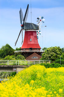 Windmühle in Greetsiel by sven-fuchs-fotografie