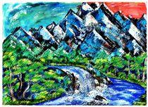 ~~ Mountains ~~ von Sandra  Vollmann