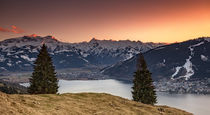 Kitzsteinhorn sunset by photoart-hartmann