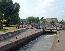 Stratford Lock and Canal Basin by Rod Johnson