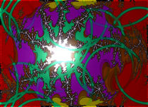 Farbkosmischer Wahn 8 von Jürgen Kohl