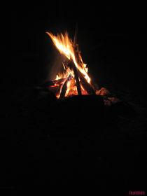 Lagerfeuer by nachtlicht