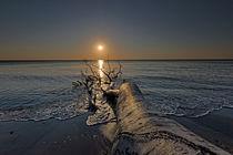 Sonnenuntergang am Weststrand von Borg Enders