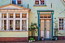 Die alten Häuser in Tonder Nr.1 von Thomas Plag