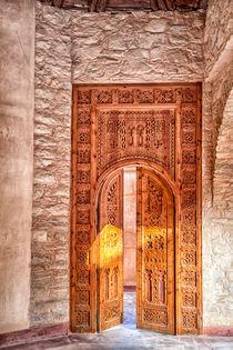 In der Medina der afrikanischen Hafenstadt Agadir in Marokko by Gina Koch