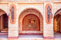 In der Medina der afrikanischen Hafenstadt Agadir in Marokko von Gina Koch