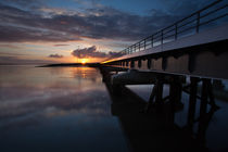 Loughor rail bridge by Leighton Collins